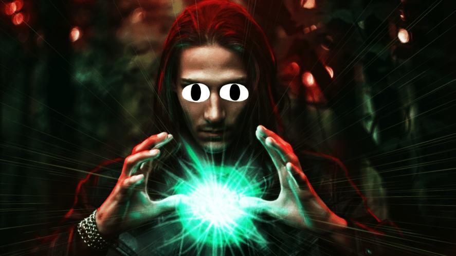 An evil wizard
