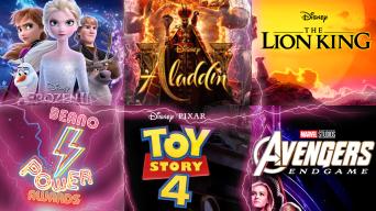 Frozen 2, Aladdin, The Lion King, Beano Power Awards, Toy Story 4, Avengers: Endgame