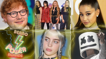 Ed Sheeran, Ariana Grande, Little Mix, Billie Eilish, Marshmello