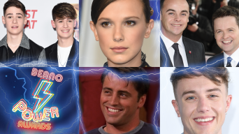 Max and Harvey, Millie Bobbi Brown, Ant and Dec, Matt Le Blanc, Roman Kemp