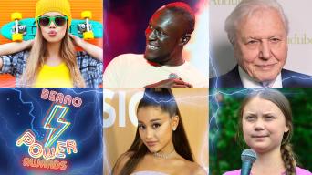 VSCO girls, Stormzy, David Attenborough, Ariana Grande, David Attenborough, Greta Thunberg,