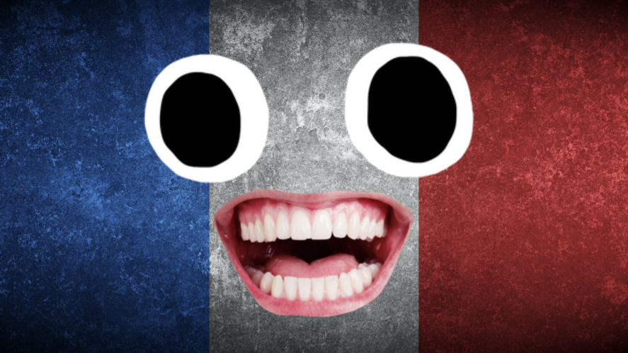 A French flag