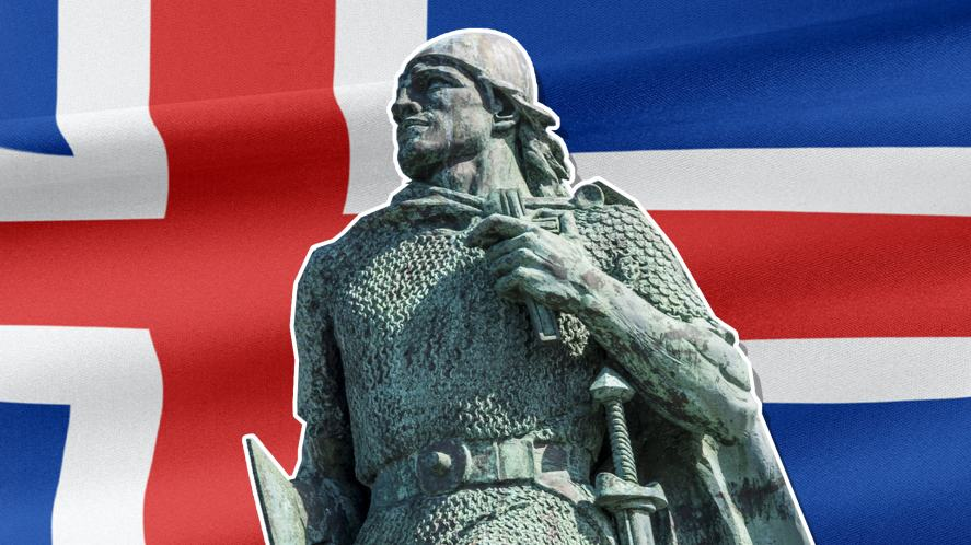 Icelandic explorer Leif Erikson