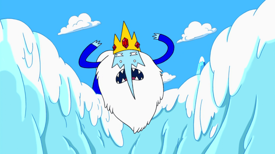 A scene from Adventure Time
