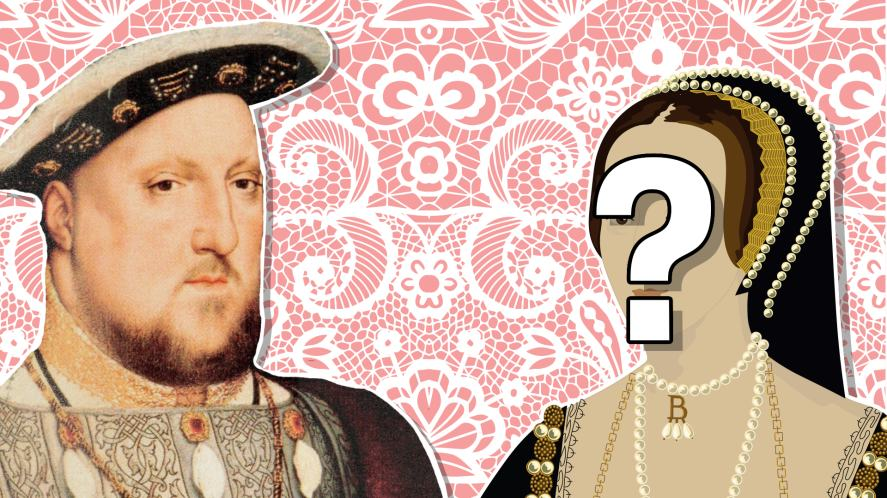 Henry VIII and one of his six wives