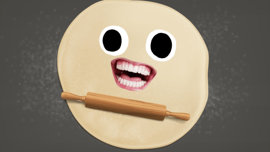 Pastry and a rolling pin