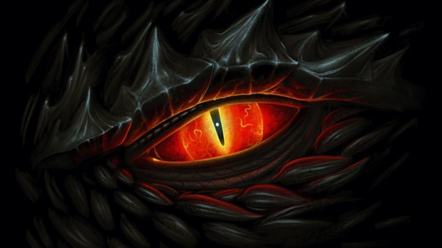 A dragon's eye