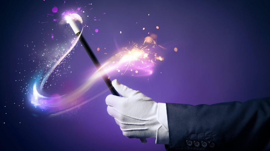 A magician's wand