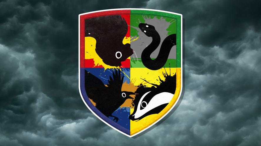 Hogwarts badges