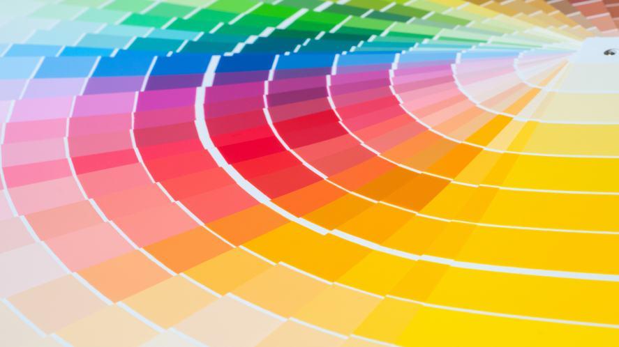 A colour palette