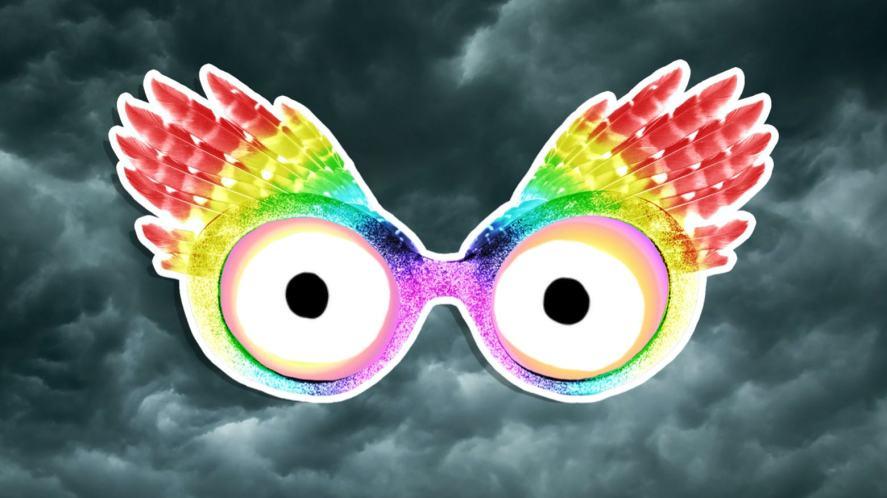 Luna Lovegood's glasses
