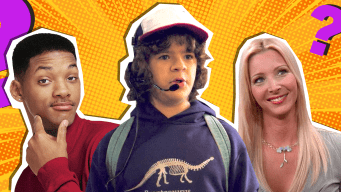 The Fresh Prince, Dustin from Stranger Things and Phoebe from Friends