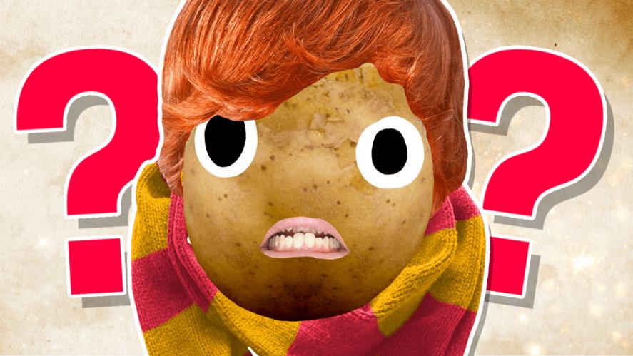 Ron looking sad