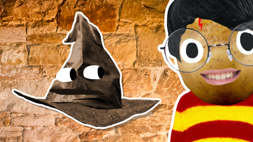 Sorting Hat with Harry
