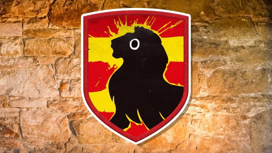 The Gryffindor shield