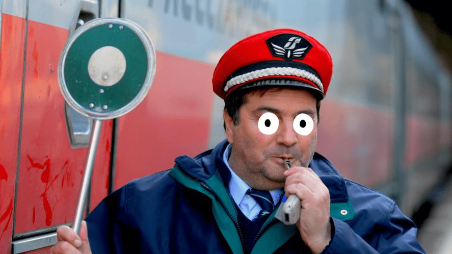A train conductor