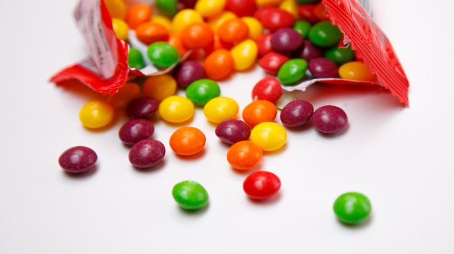 A bag of sweets
