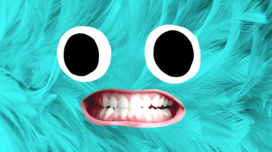 A Sulley impersonator