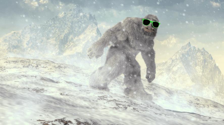 An Abominable Snowman