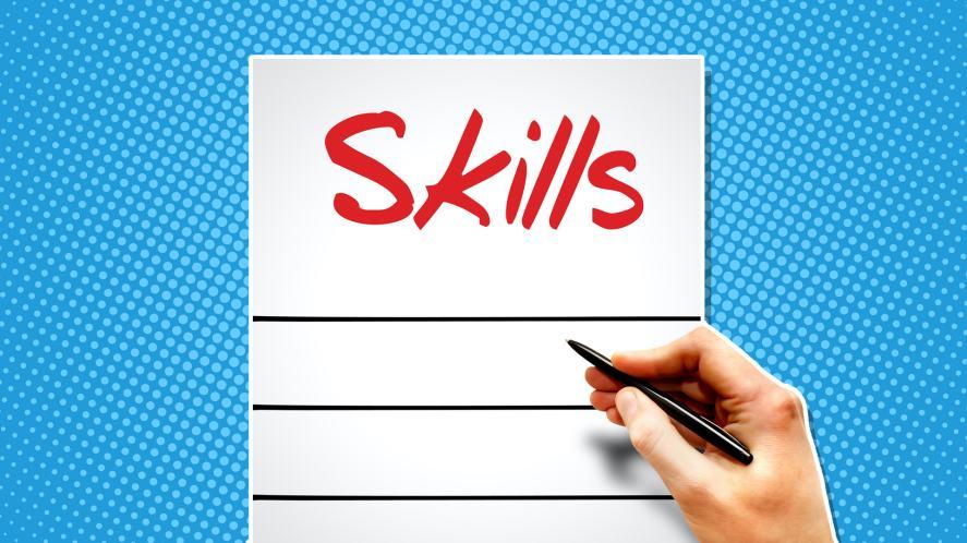 A list of skills