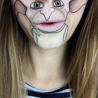 Laura Jenkinson Make Up Face