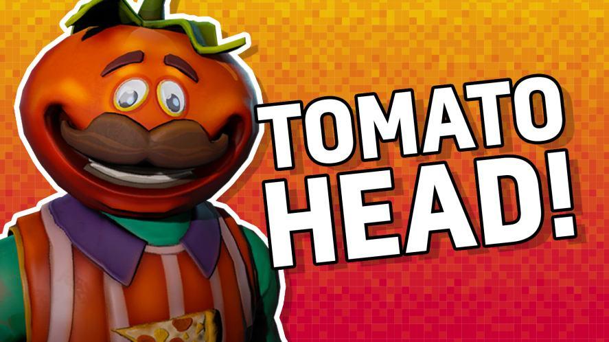 Tomato Head from Fortnite