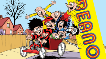 Inside Beano 4019 - Hitch a ride on the... getaway cartie