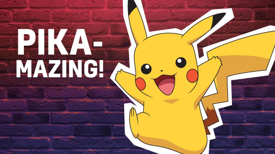 Pika-mazing! Like Pikachu and amazing!
