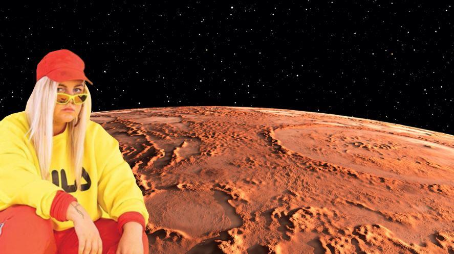 Tones and I on Mars