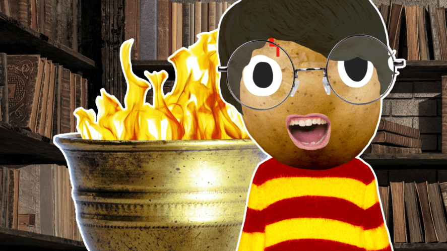 Harry and the goblet of fire