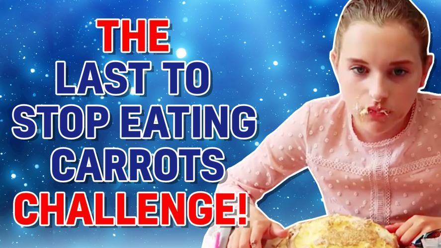 LAST TO STOP EATING CARROTS