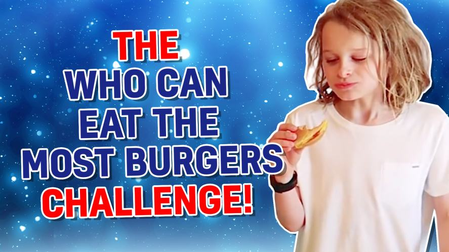 WHO CAN EAT MOST BURGERS