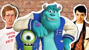 Back To School Movies - Napoleon Dynamite, Monsters University and Ferrris Bueller