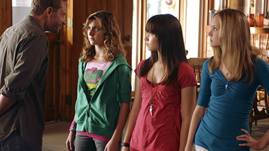 Caitlyn, Mitchie and Tess in Camp Rock