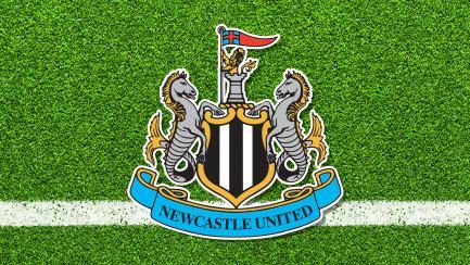 A Newcastle United club badge
