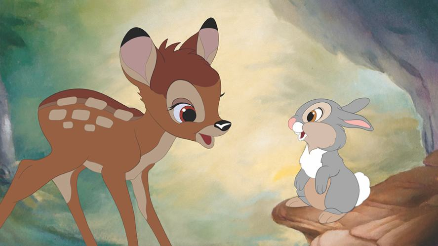 A scene from Bambi