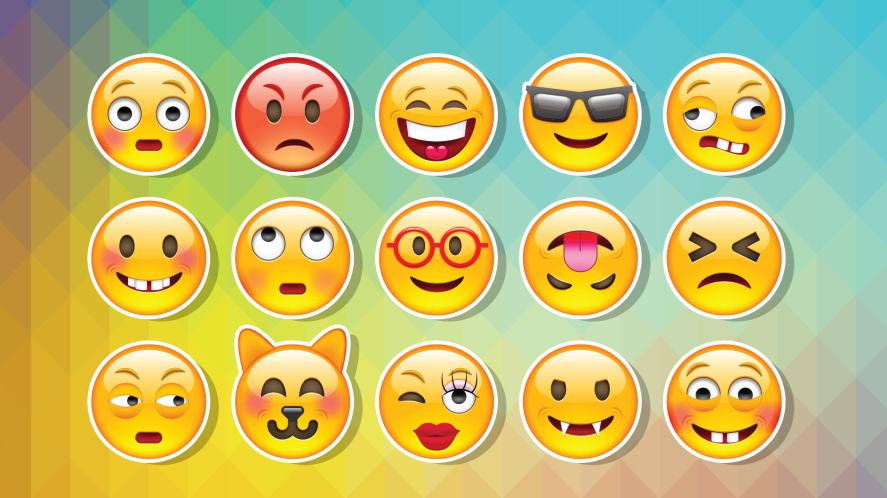A selection of emojis
