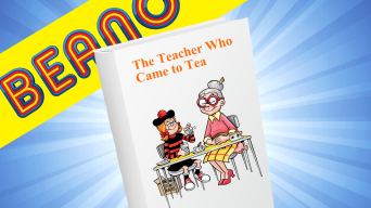 Inside Beano 4023 - The Teacher Who Came to Tea