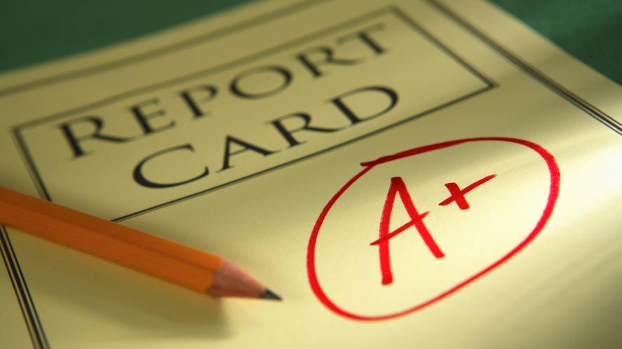 A school report