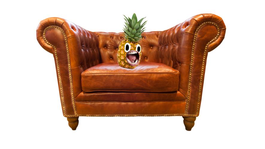 A big armchair