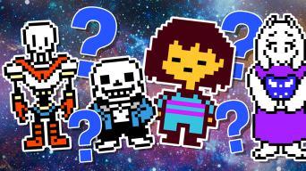 Undertale character quiz
