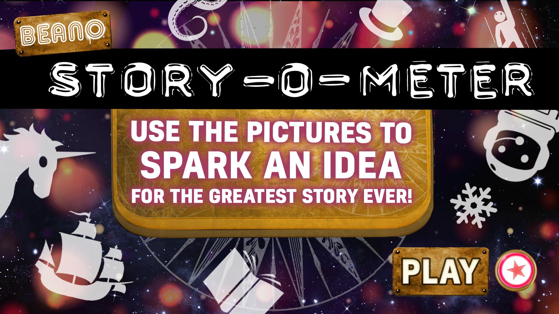 Story-O-Meter | Beano's Random Story Generator!