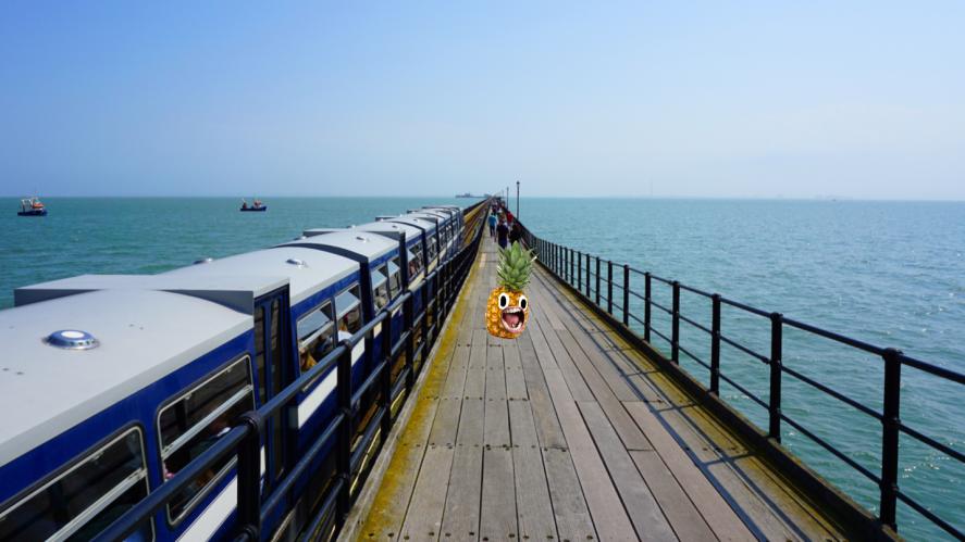 A really long bridge in Essex