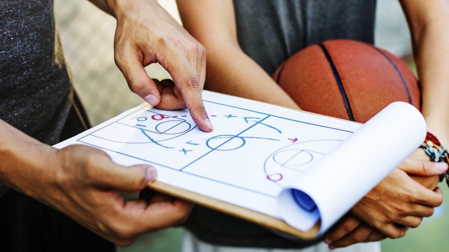 A basketball coach explains his tactics