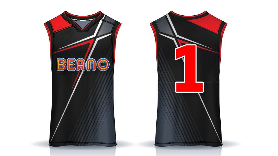 A very cool Beano basketball vest