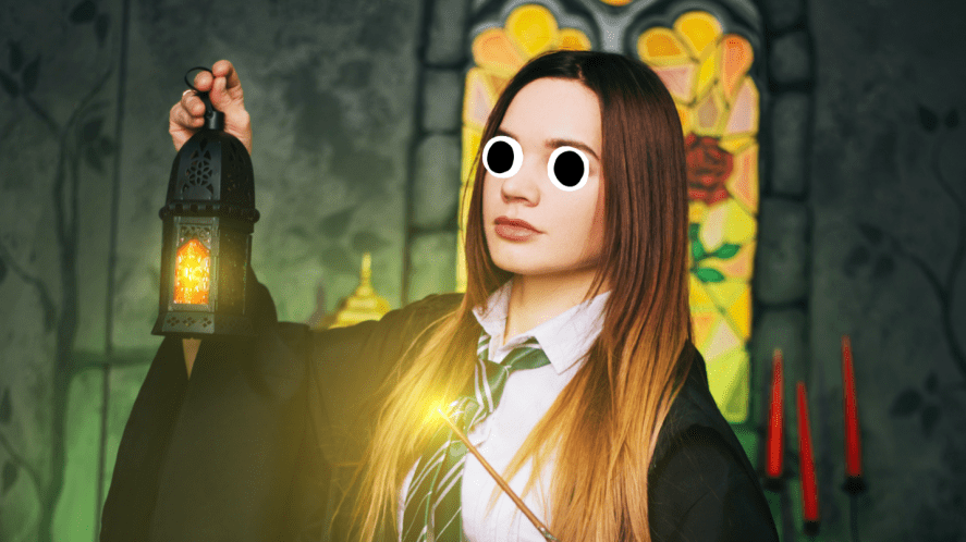 A wizard student