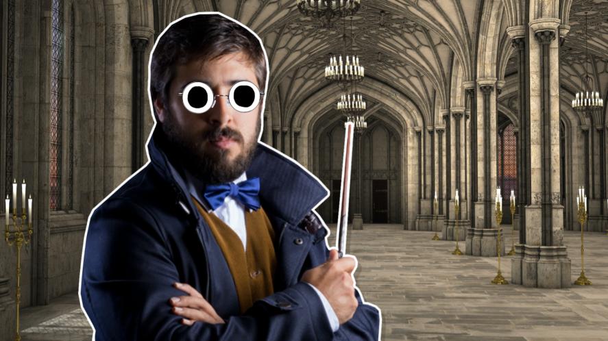 A wizard in Ilvermorny
