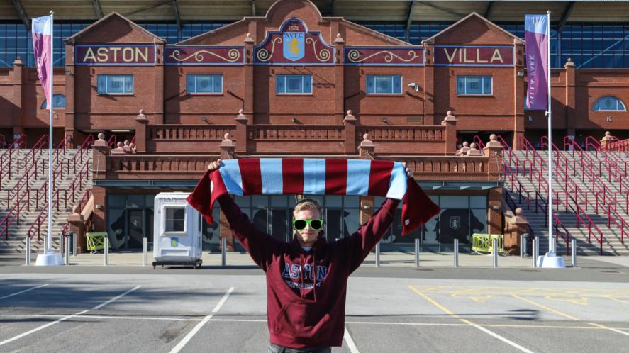 An Aston Villa fan