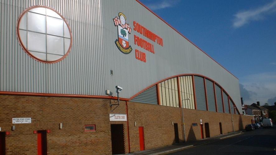 Southampton's former ground