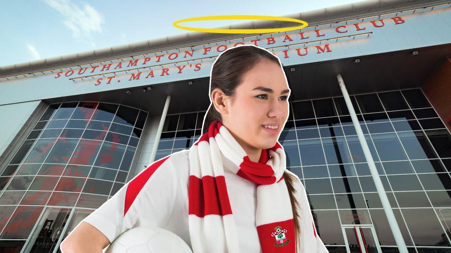 A Southampton fan